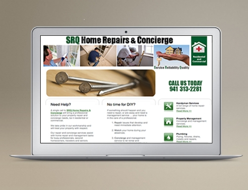 Website Design/Dev: Home Repairs