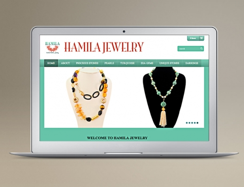 Website Design/Dev: Jewelry – eCommerce