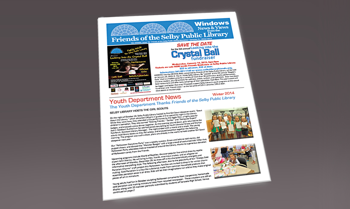 Newsletter-Selby Public Library