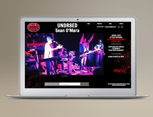Website Design/Dev: Urban Music Band
