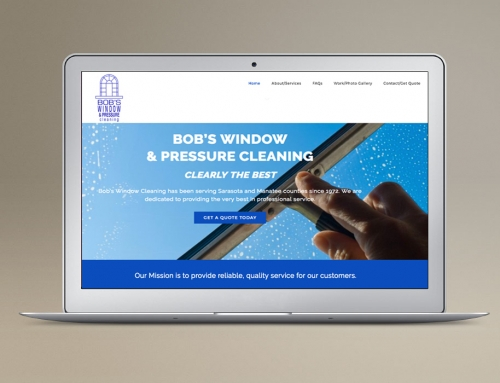 Website Design/Dev: Window & Pressure Cleaning